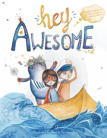 'Hey Awesome' Children's Book