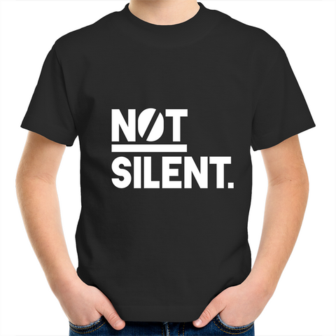 Not Silent Kids Youth T