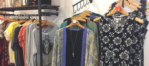 Spring Clothing Display at Union Rose March 2018