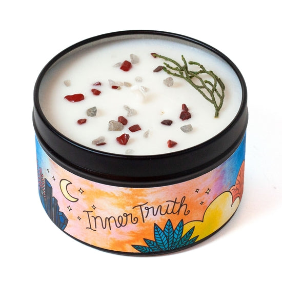 Inner Truth Aromatherapy Candle - Woodsy & Spice