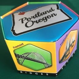 Portland Bridges Magnet- Set of 7