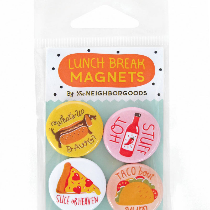 Lunch Break Mini Magnet Set
