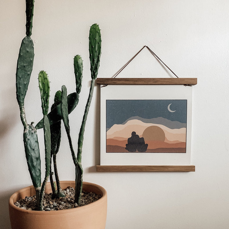 """Watch Sunsets"" Art Print"