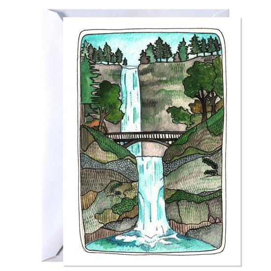 Multnomah Falls Card