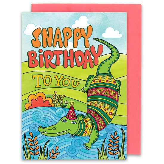 Snappy Birthday to You Card