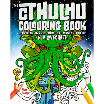 Cthulhu Coloring Book: Startling Images from H.P. Lovecraft