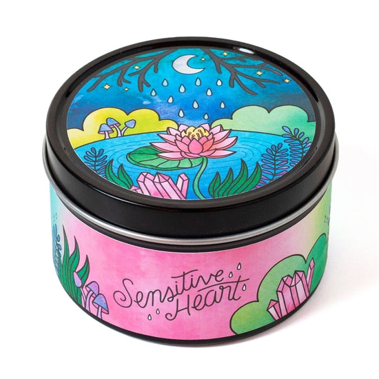 Sensitive Heart Aromatherapy Candle - Floral & Citrus