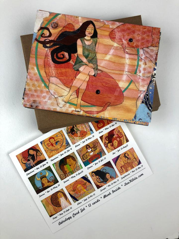 Astrology Art Card Pack - UnionRose