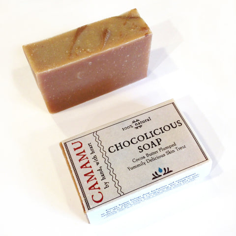 Chocolicious chocolate soap by camumu