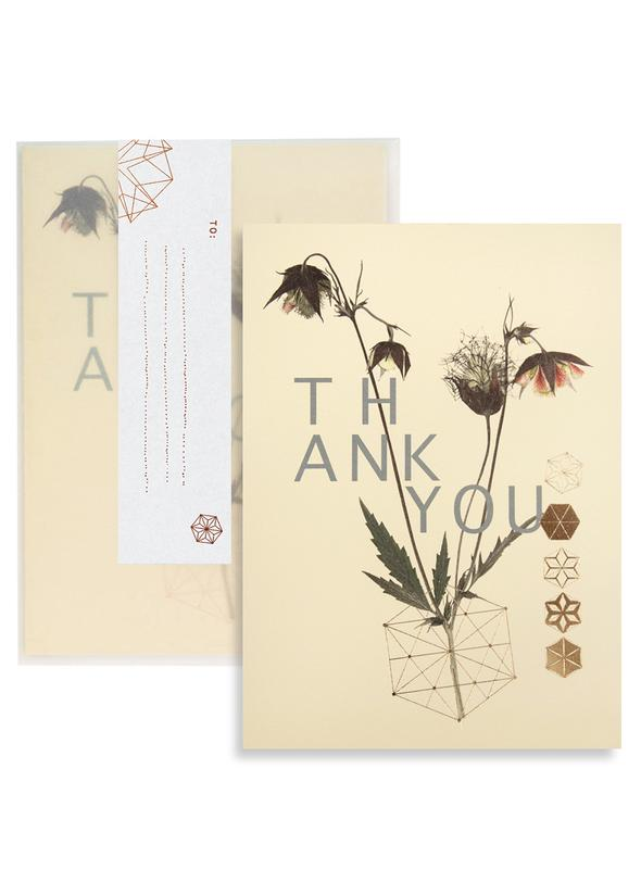 """Wildflowers"" Thank You Card"