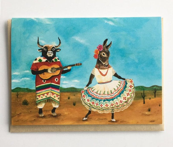 Serananta de la Burra Greeting Card