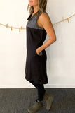 Avena Dress in Black