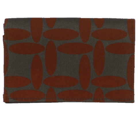 Snap Cardholder Wallet - Burnt Orange