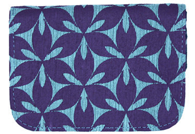 Petal Cardholder Wallet - Purple/Blue