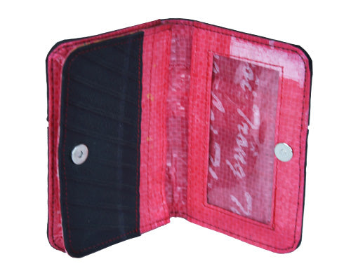 Tire Cardholder Wallet - Red
