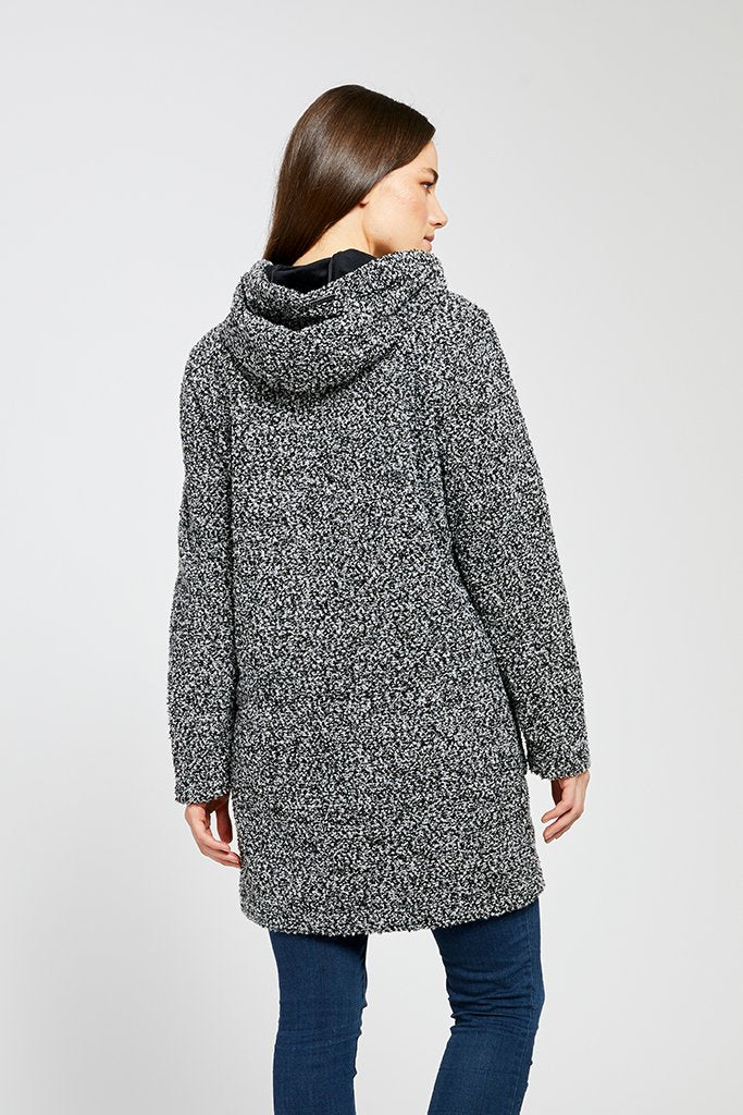 Ella Sweater Knot Weatherproof Jacket