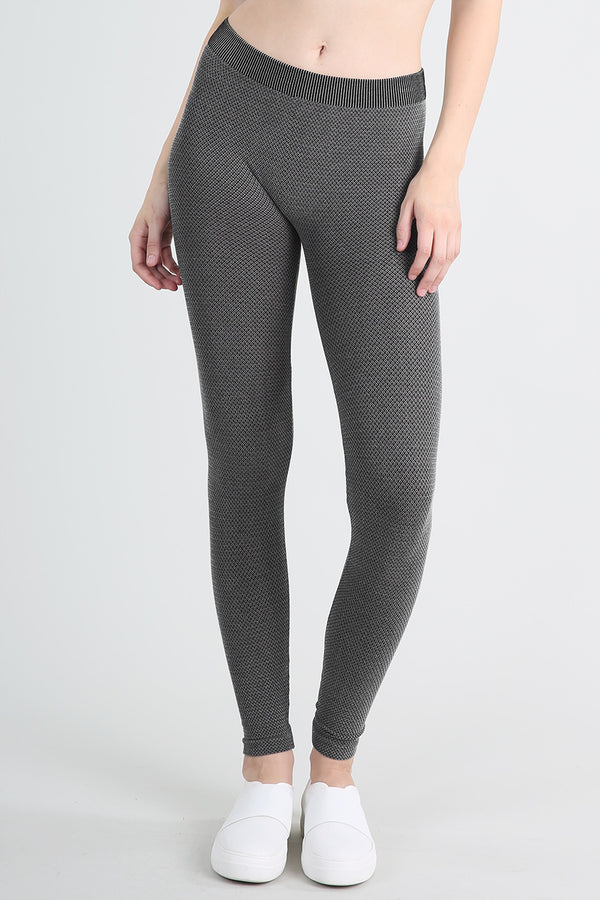 Diamond Knit Leggings