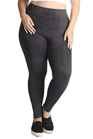 Nikibiki Faded Black Moto Leggings