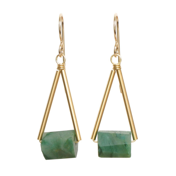 Stowaway Pavi Gemstone Earrings