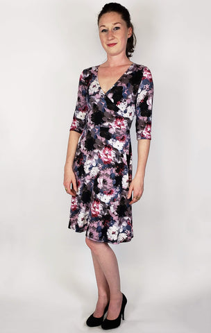 Rachel Dress in Dusky Floral