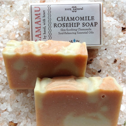 Chamomile and Rosehip Bar Soap