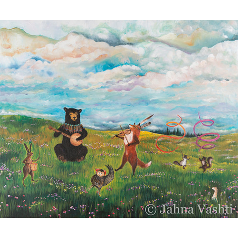Spring Jubilee Greeting Card