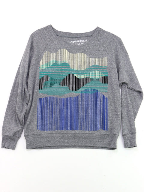 Mountains Pullover Top