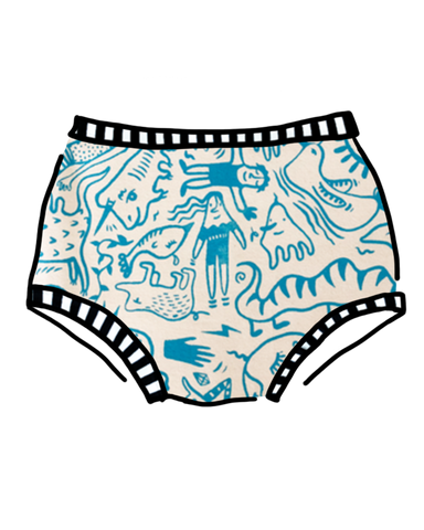 Doodly Blue Original Thunderpants