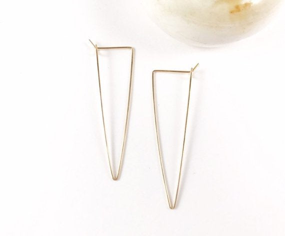 Long Triangle Hoops