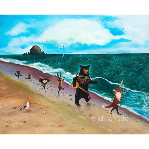 Beach Day! Greeting Card