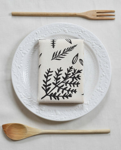 Woodland Fern Tea Towel