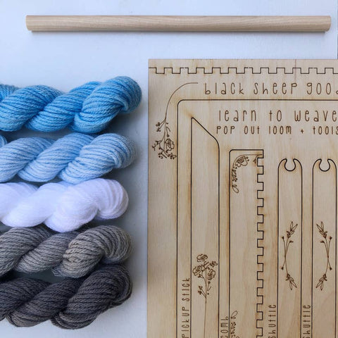 Wall Hanging Tapestry DIY Kit- Cloud