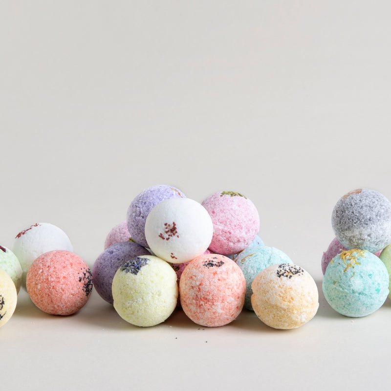 Handmade natural Bath Bombs with Essential Oils