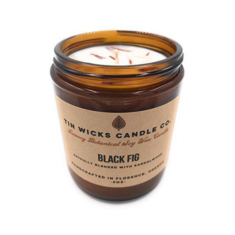 Black Fig and Honey Soy Wax Candle