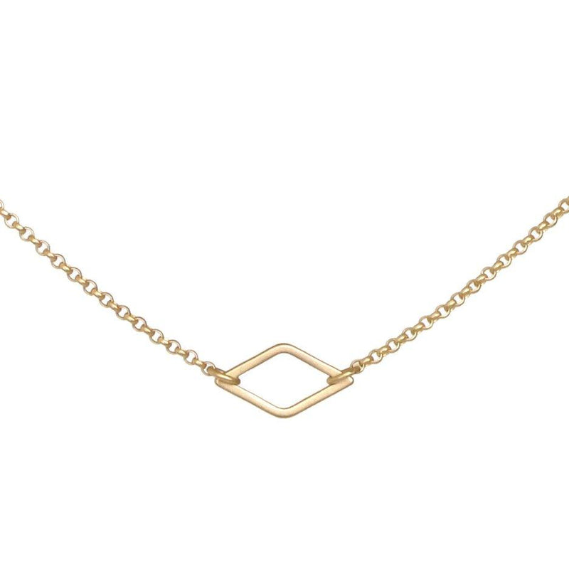 Small Diamond Shape Necklace