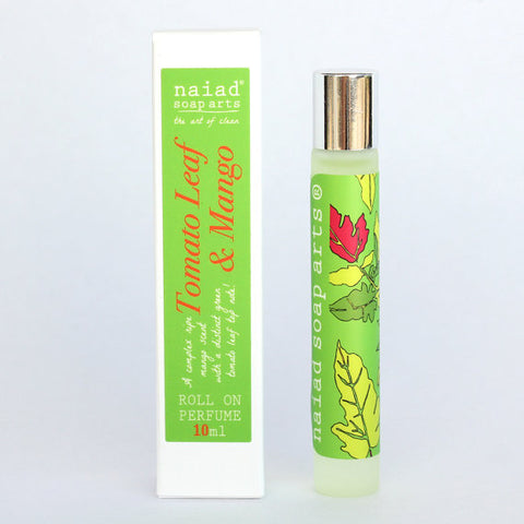 Tomato Leaf and Mango Roll on Perfume