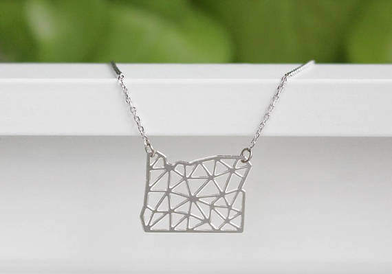 Geometric Oregon Necklace - UnionRose