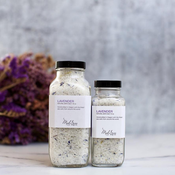 Classic Lavender Bath Salts - 2 Sizes