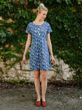 T-shirt Dress with Faces Print