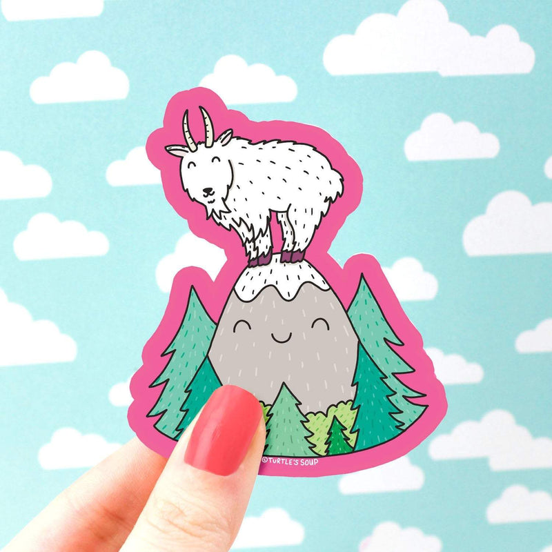 Mountain Goat Sticker