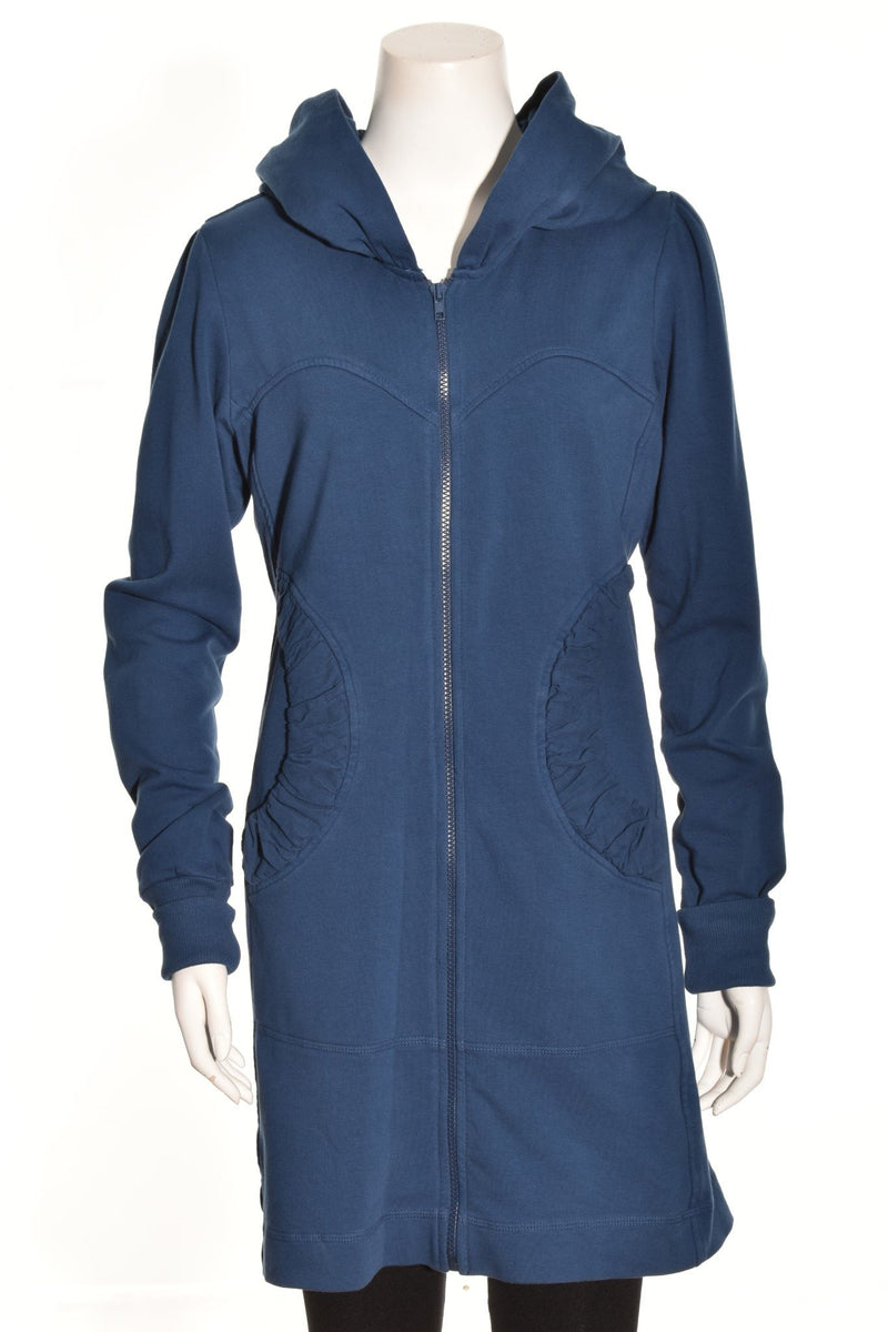 Lux Hoodie Jacket in Night Owl