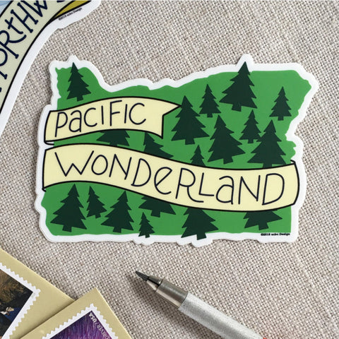 ACBC Design Pacific Wonderland Oregon Sticker