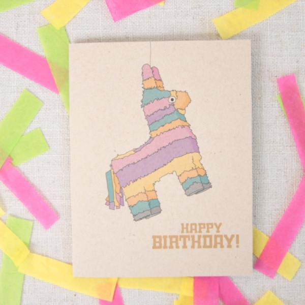 Birthday Pinata! Card - UnionRose