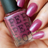 Pepperpot Polish Brazen red nail polish