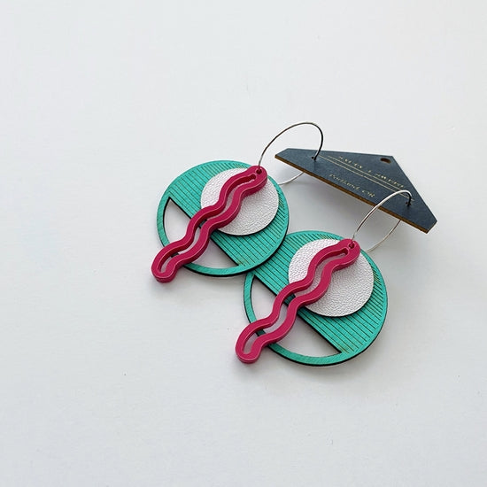 Palm Springs Squiggle Earrings