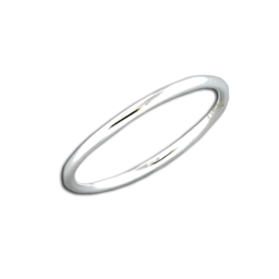 Simple Sterling Silver Band