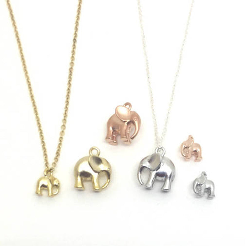 Baby Elephant Dainty Necklace