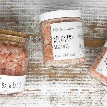 Pink Lavender Bath Salts- Large Size