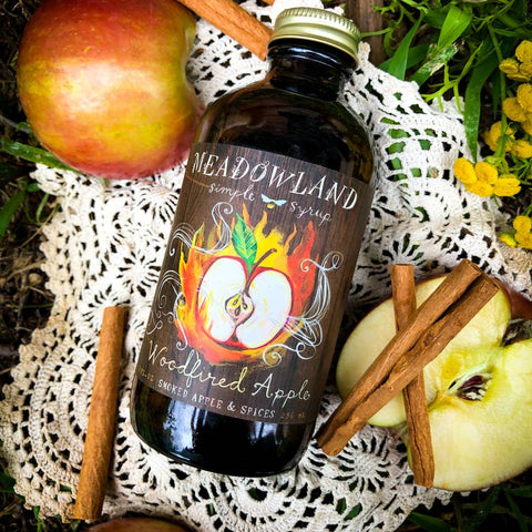 Wood Fired Apple Simple Syrup