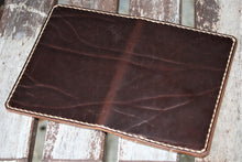 Handmade Cover or Wallet for Passport SINGRAPHUS Horween Leather Brown Chromexcel